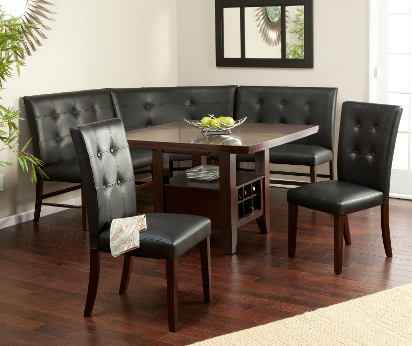 Image of: Interior Nook Dining Table Set
