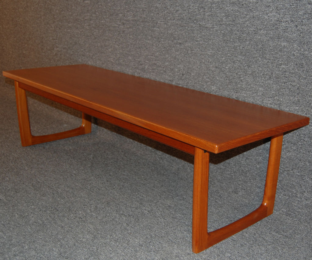 Image of: Mid Century Coffee Table Model