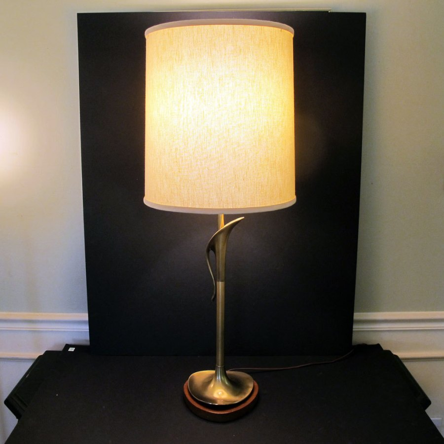 Image of: Mid Century Modern Table Lamp Shades
