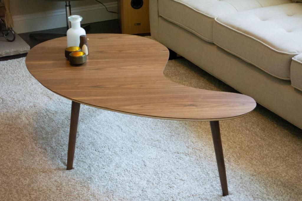 Image of: Mid Century Modern Table Pictures