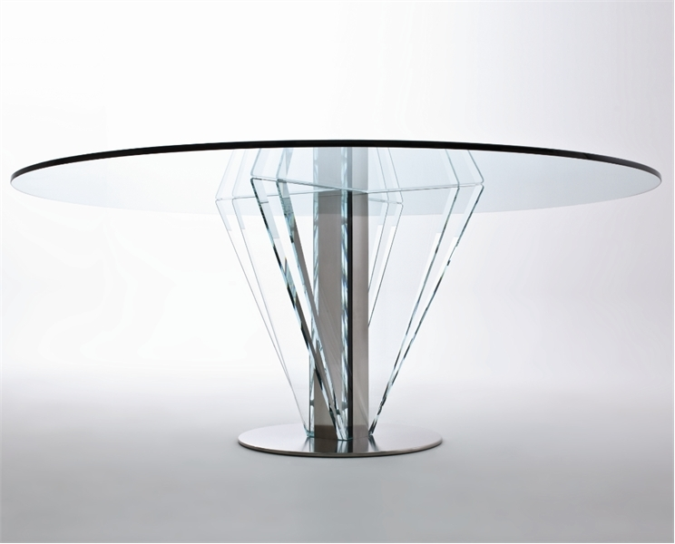 Picture of: Modern Base for Glass Table