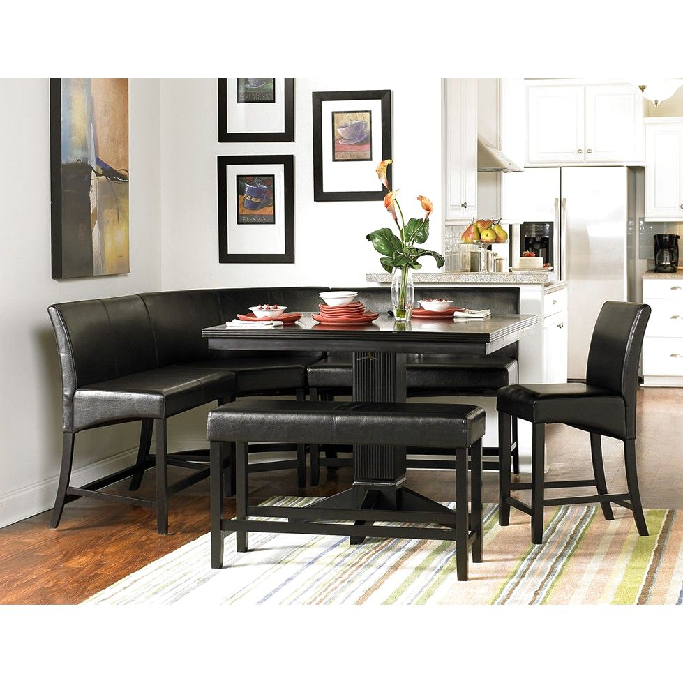 Image of: Modern Nook Dining Table Set