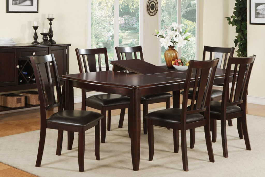 Picture of: new dining room table with leaf