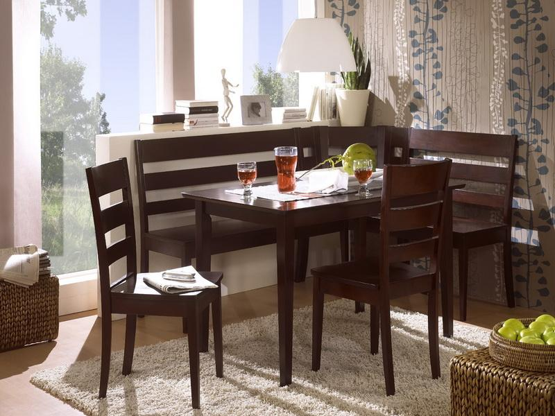 Image of: Nook Dining Table Set Design
