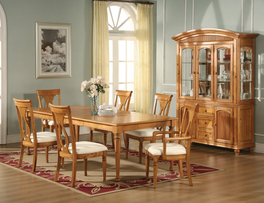 Image of: Oak Formal Dining Room Tables