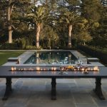 Outdoor Fire Pit Dining Table
