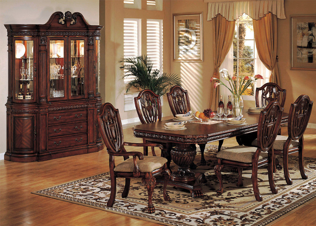 Image of: Picture Formal Dining Room Tables