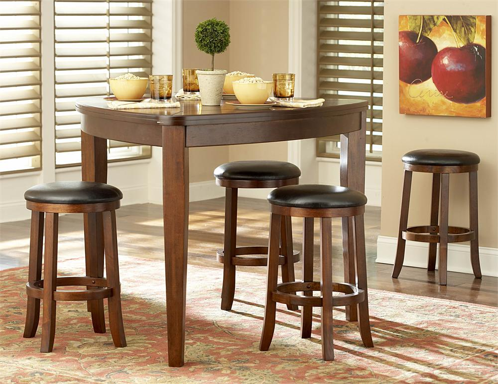Image of: Pretty Adjustable Height Dining Table