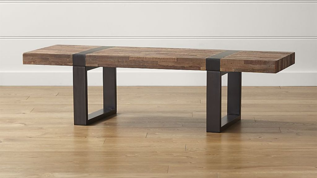 Image of: rectangular coffee table base