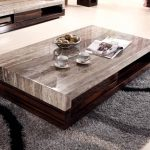 Rectangular Coffee Table With Stools