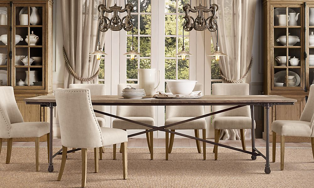 Picture of: Restoration Hardware Dining Room Table Ideas