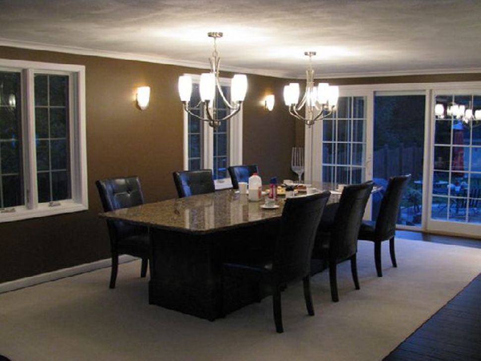 Picture of: Round Granite Dining Table Set