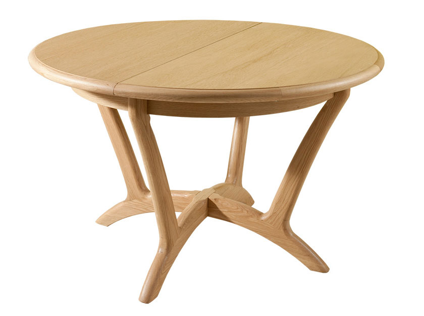 Image of: Round dining tables wood