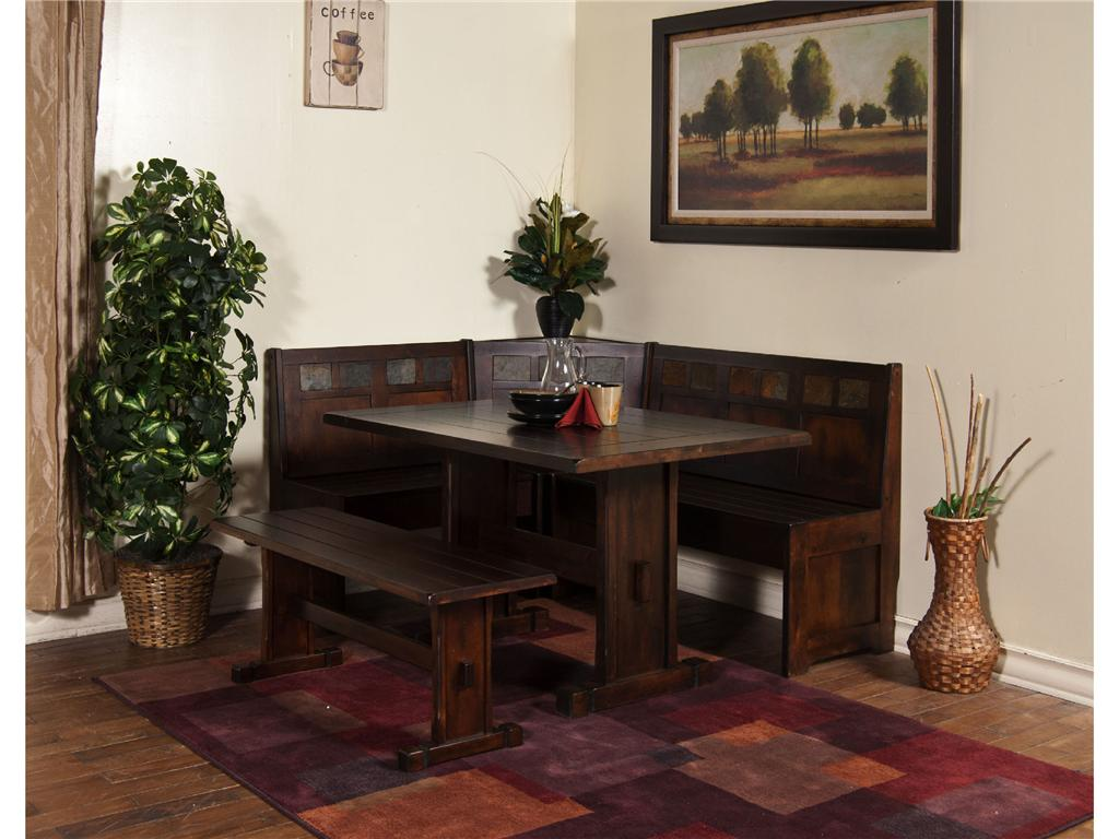 Image of: Simple Nook Dining Table Set