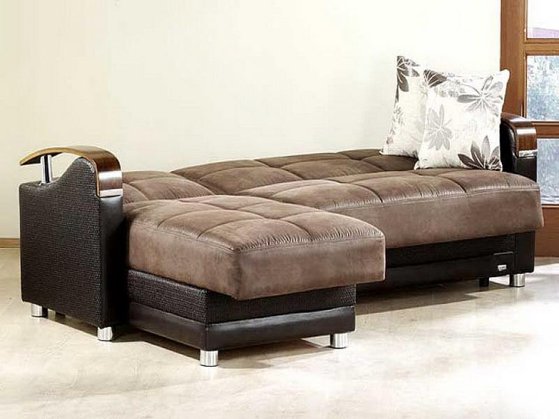 Image of: Sleeper Sofa Sectional Material