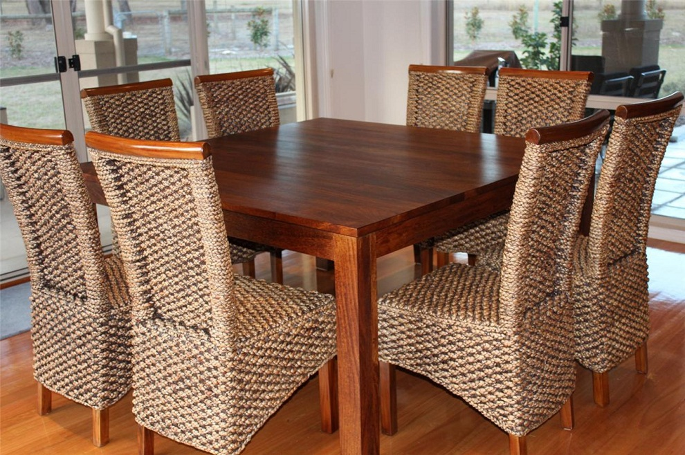 Image of: Square Dining Room Tables with Leaves