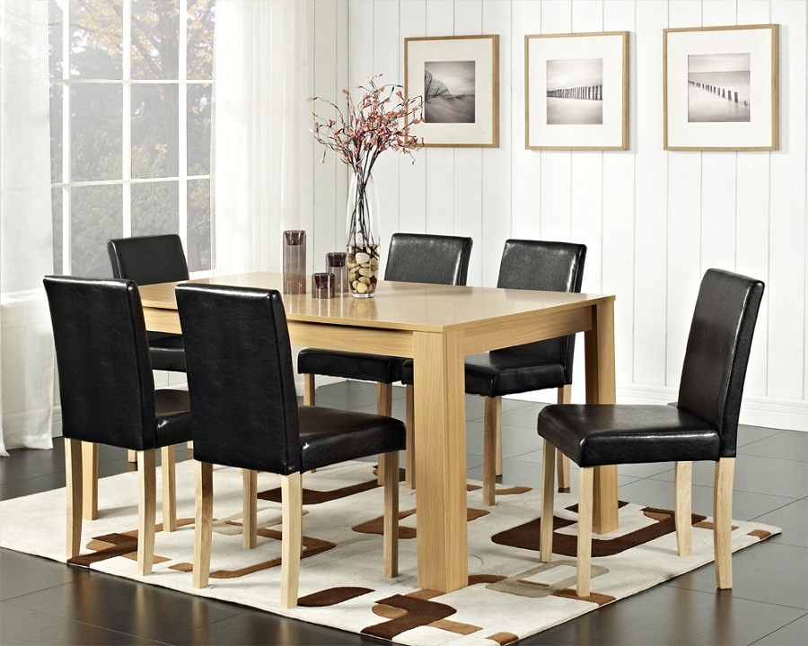 Image of: Square Dining Table Seats 8 Furniture