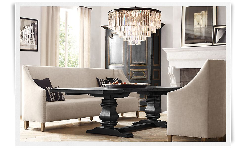 Picture of: Style Restoration Hardware Dining Room Table