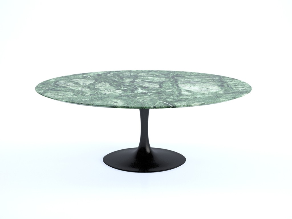 Picture of: Stylish Saarinen Oval Dining Table