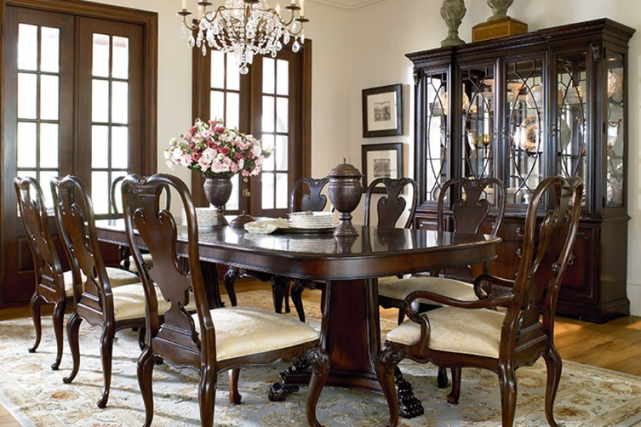 Image of: Thomasville Dining Table Furniture