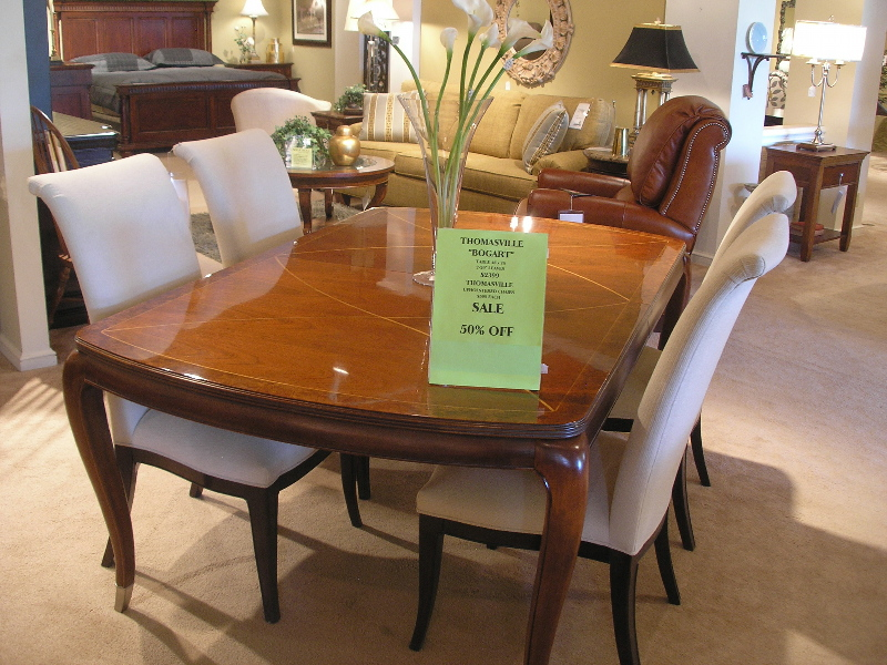 Image of: Thomasville Dining Table