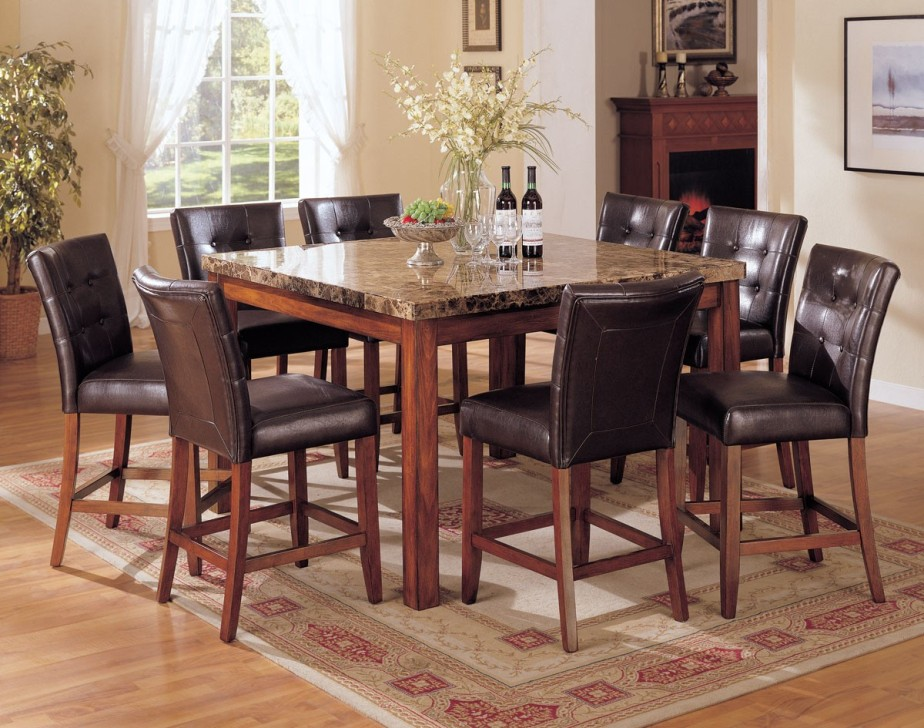 Picture of: Top Granite Dining Table Set
