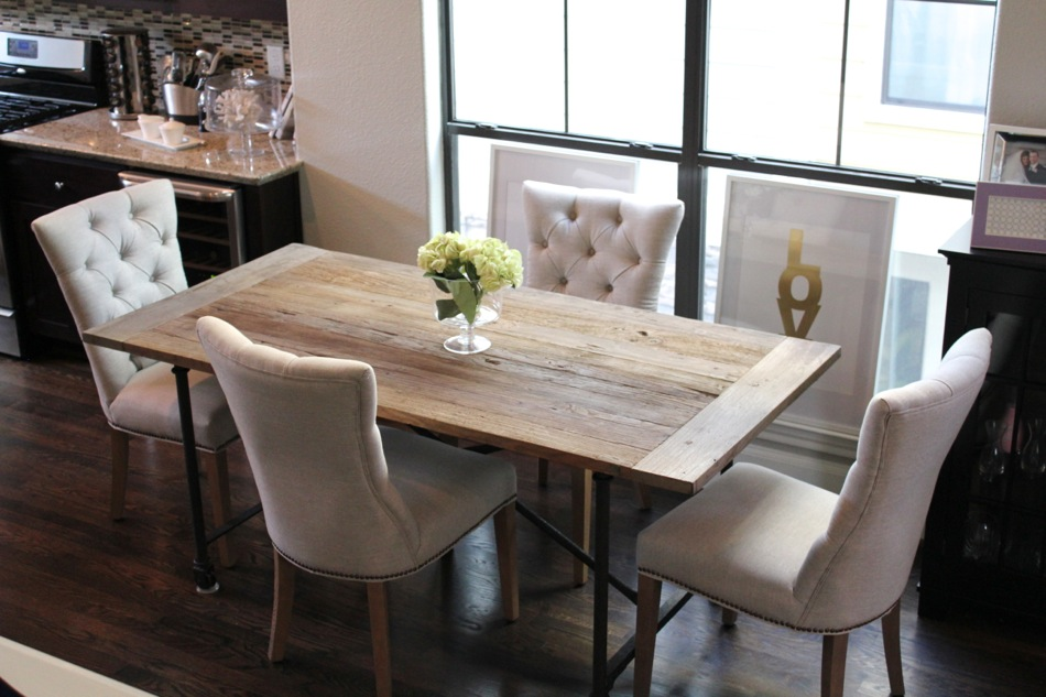 Picture of: Unique Restoration Hardware Dining Room Table