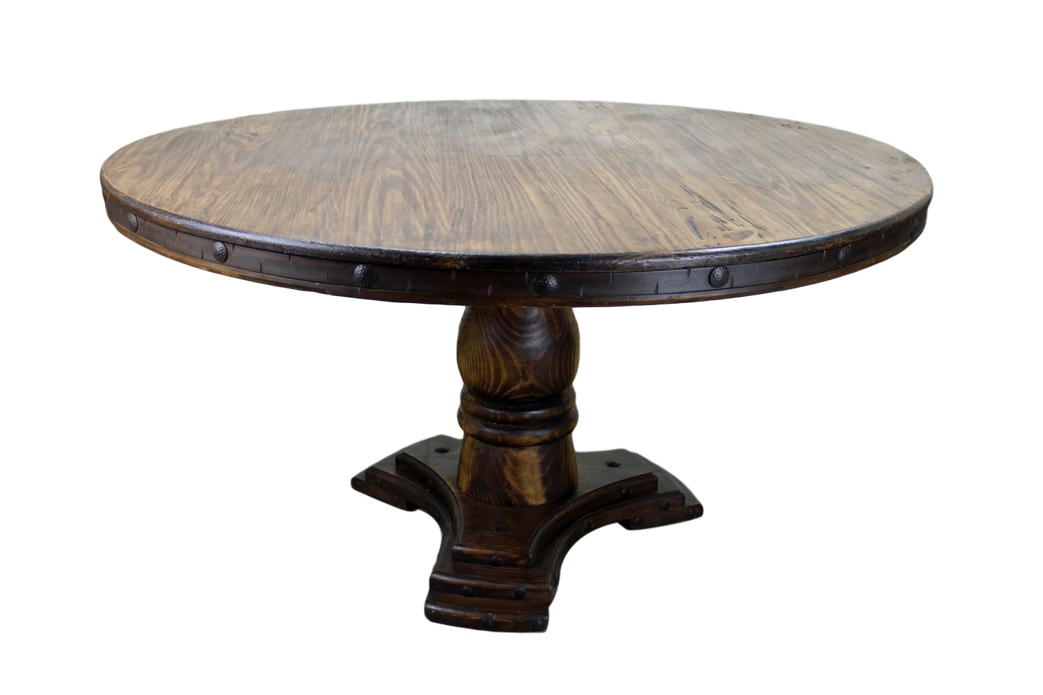 Image of: Unique round dining tables
