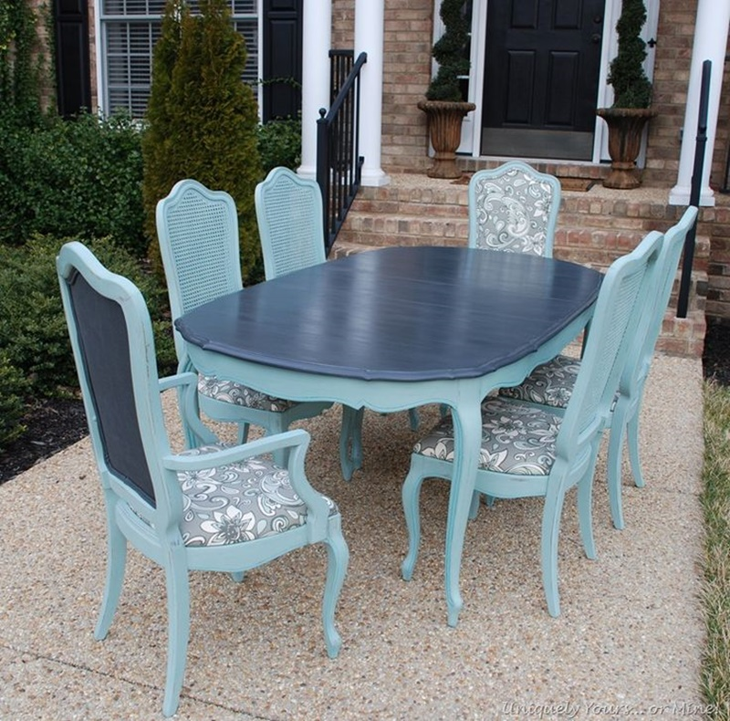 Image of: Vintage Thomasville Dining Table