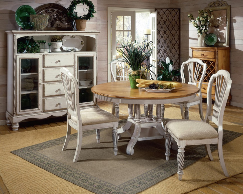 Image of: White Benches for Dining Room Tables