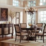 Wood Round Dining Room Table Sets