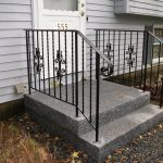 Exterior Wrought Iron Stair Railing Kits Look Attractive