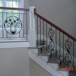 Wrought Iron Staircase Designs Cost Interior Design Steel Stairs