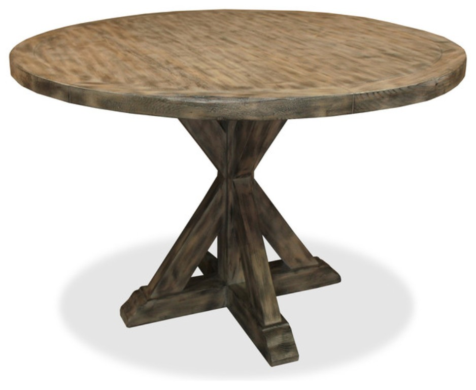 Image of: 48 Inch Round Table What Size Rug