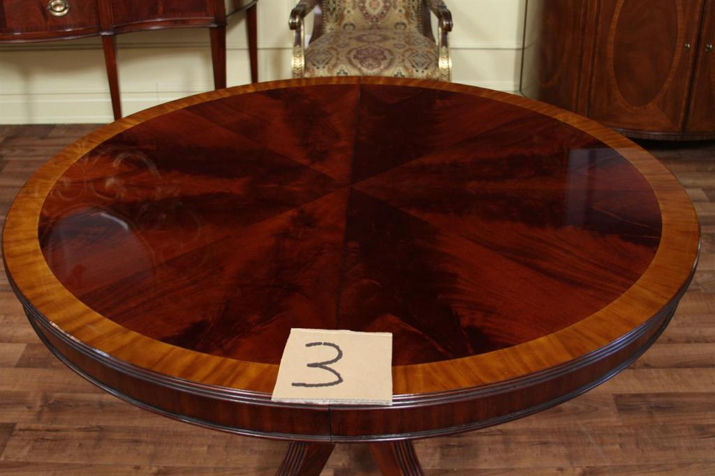 Picture of: 48 Inch Round Table With Leaves