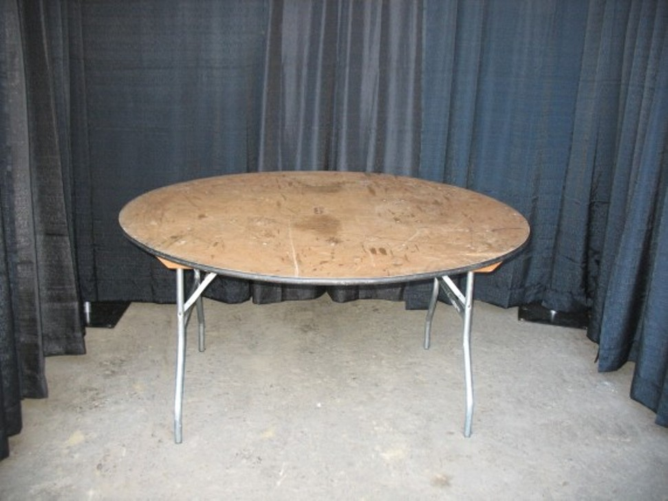 Image of: 60 round dining table counter height
