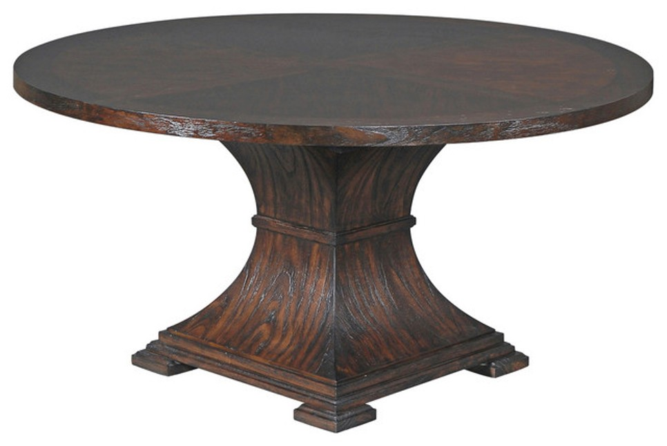 Image of: 60 round dining table set