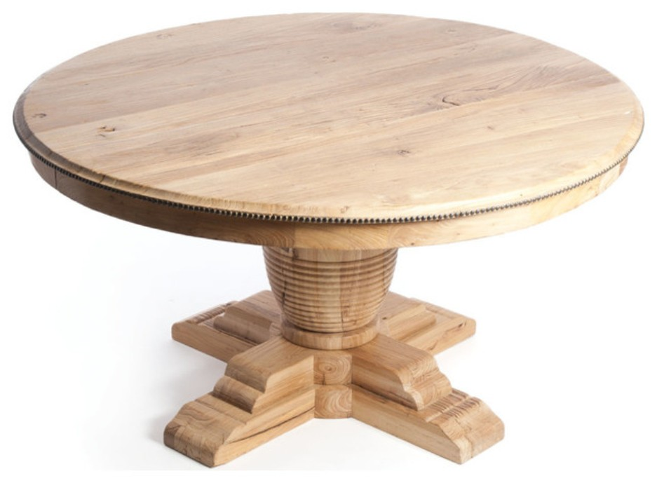 Image of: 60 round dining table with extension