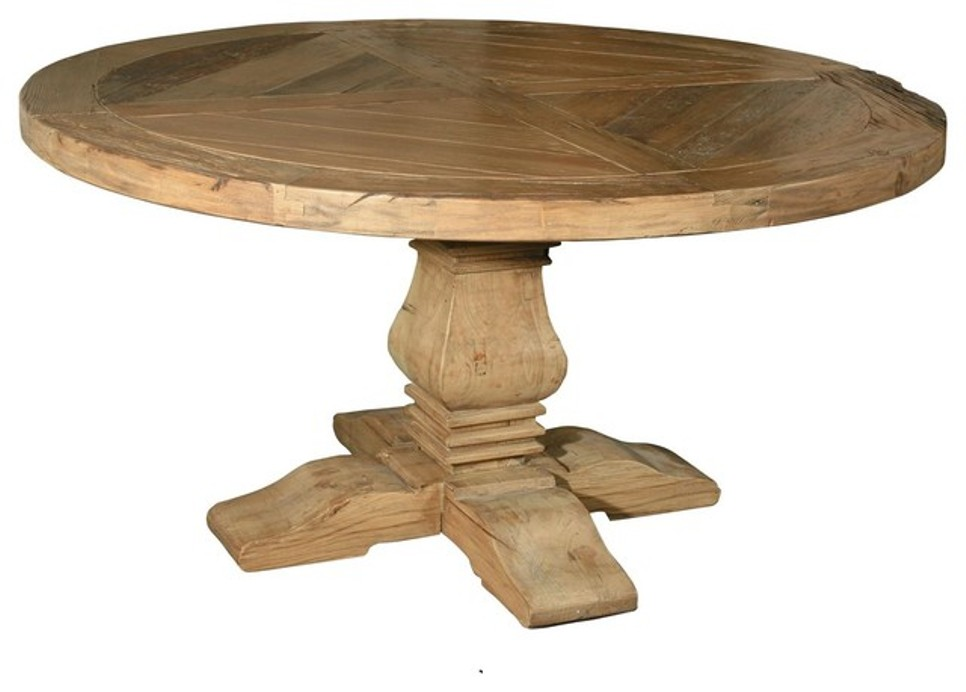 Picture of: 60 round dining table with lazy susan