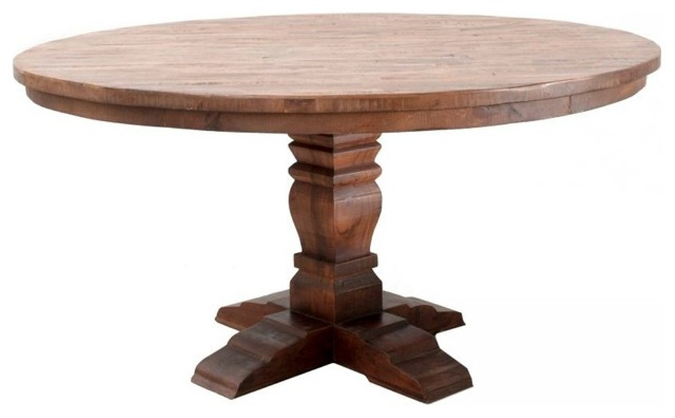 Image of: 60 Round Dining Tables With Leaf