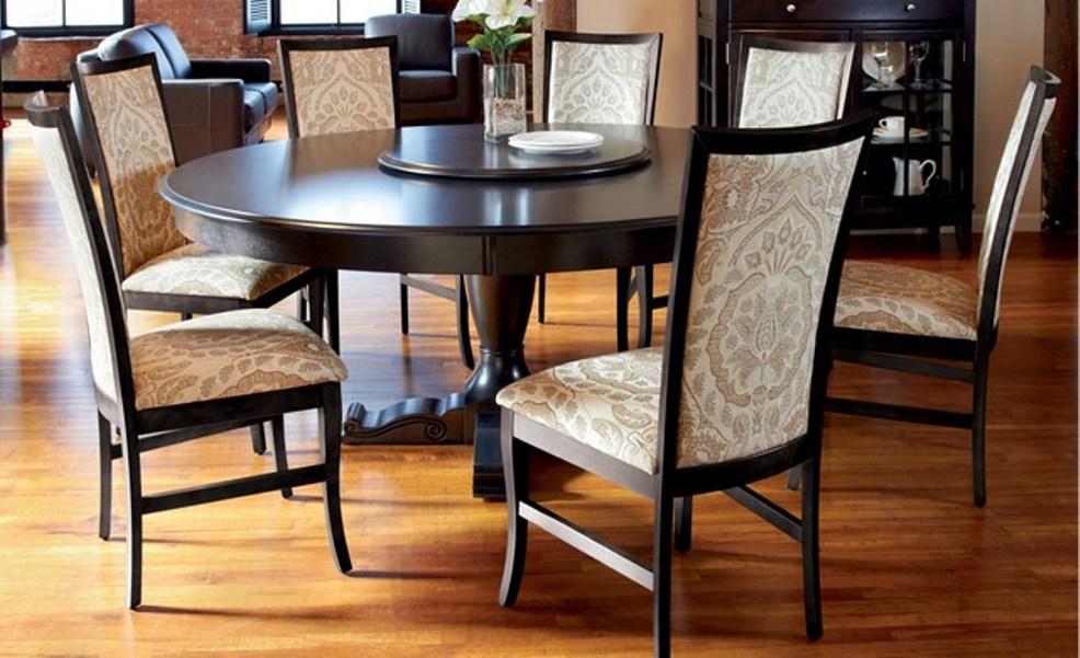 Image of: 60 round dining table