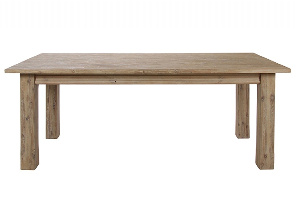 Image of: Acacia Wood Extending Dining Table