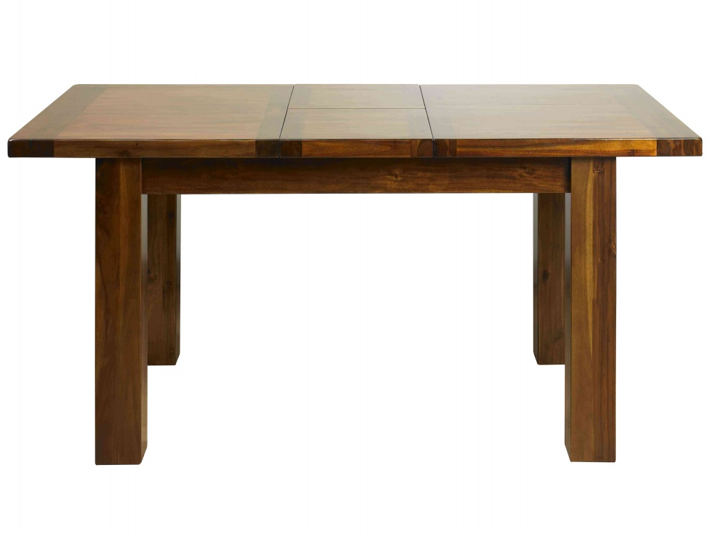 Acacia Wood Slab Dining Table