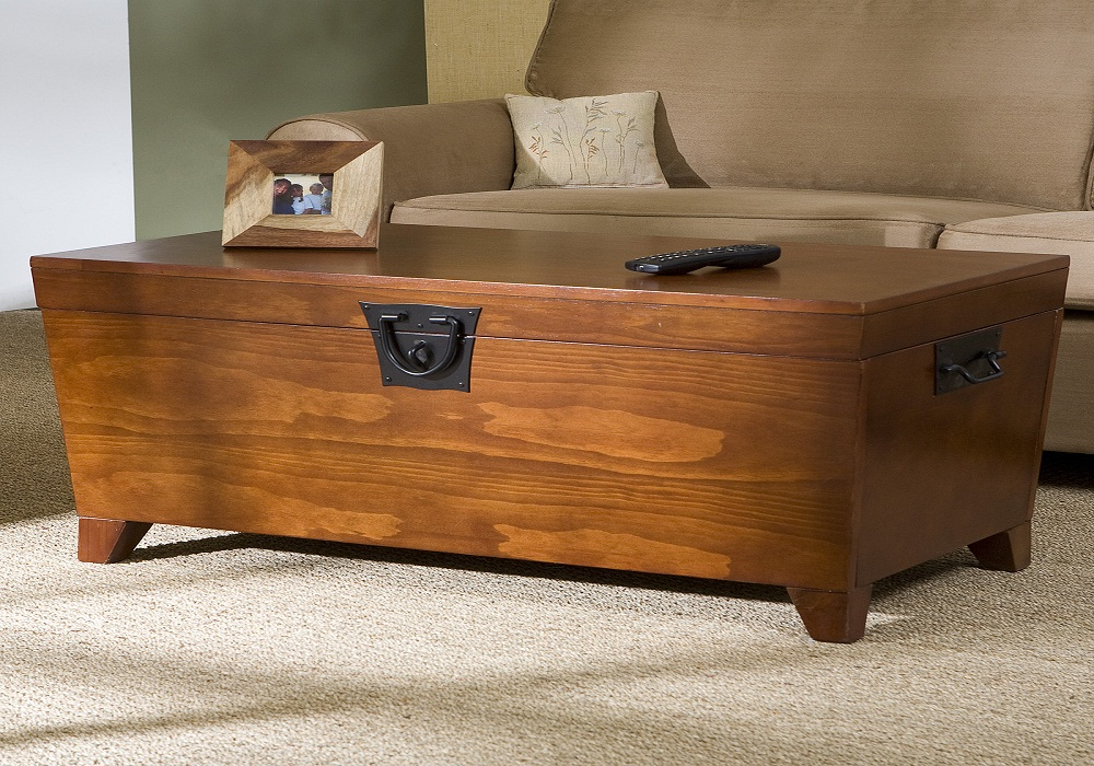 Picture of: Amazing Coffee Table Trunks