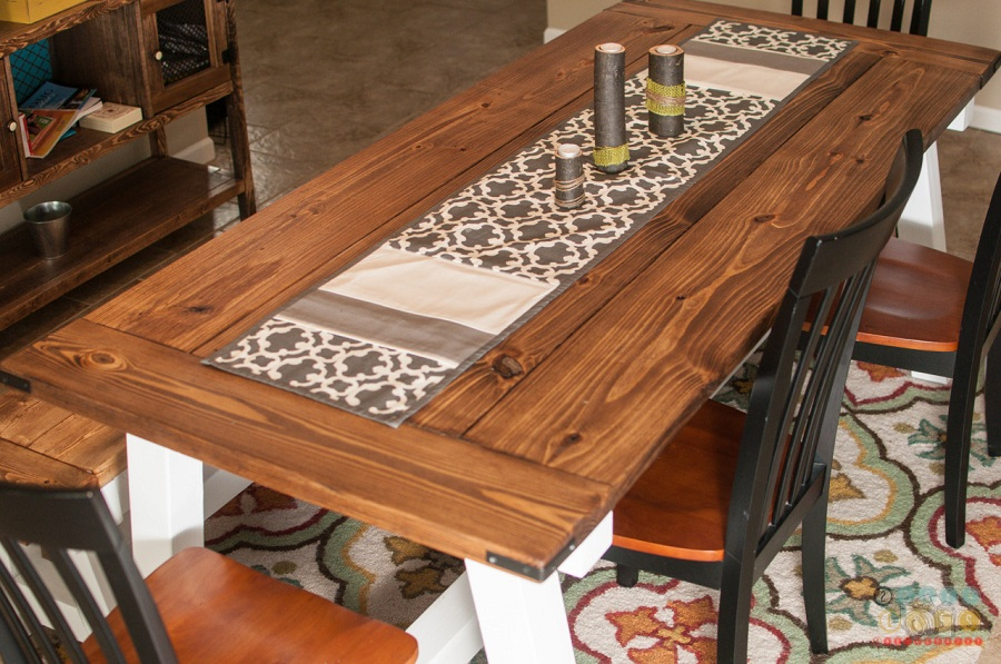 Image of: Amazing Farmhouse Table Ana White