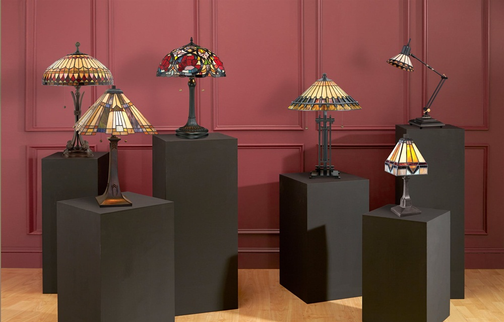 Image of: Amazing Quoizel Table Lamps