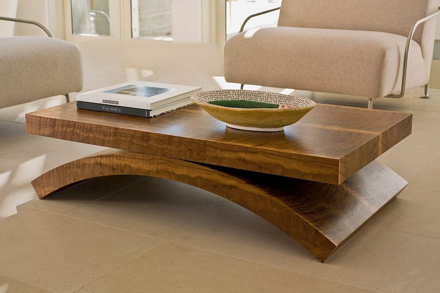 Image of: Amazing Wood Trunk Coffee Table