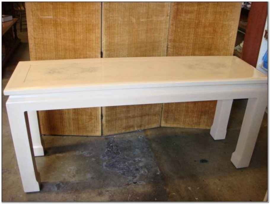 Image of: Ana white sofa table