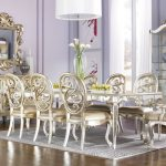 Antique Mirrored Dining Room Table