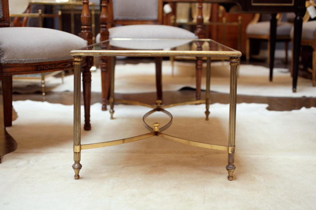 Image of: Art Deco Coffee Table Bronze